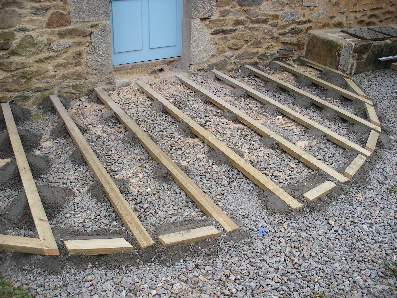 Deuxtroistrucs terrasse en bois - Comment realiser une terrasse en bois ...